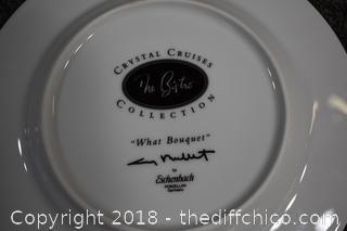 Platter w/2 Matching Plates