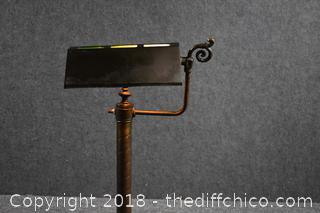 Vintage Working Light w/Shade