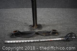 Cast Iron Shoe / Cobbler Repair Tools