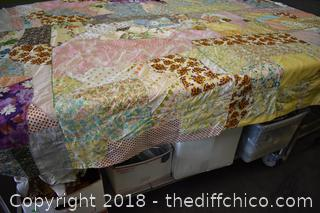 Hand Made Bed Spread