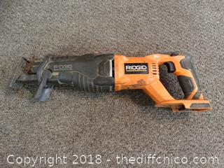 Ridgid Saw Untested
