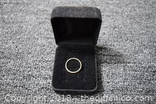 18k Gold Ring Estate Jewelry-size 4 1/2