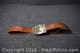 Cowboy Belt & Buckle