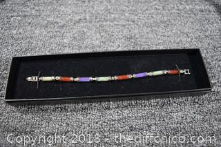 Jade & Silve Bracelet