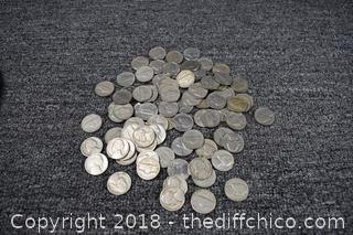 1.1 Pound of Nickels