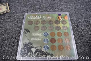 World War II Emergency Coinage Collection