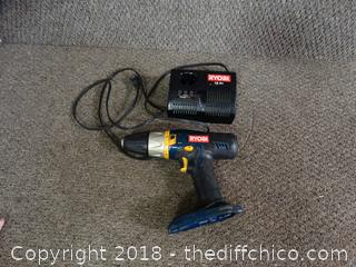 Ryobi Drill and Charger