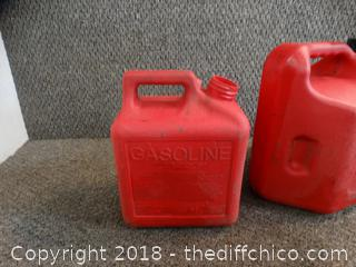 2 Gas Cans