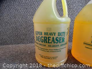 2 Gallons Of Heavy Duty Degreaser