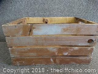 Wooden Crate Needs Repair