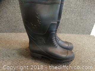 Parlis Rubber Boots Size Unknown