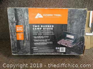 Ozark Trail 2 Burner Stove
