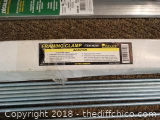 Framing Clamp and Door Sweep