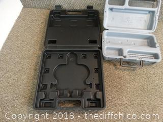 2 Empty Tool Cases