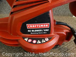 Craftsman Blower Works