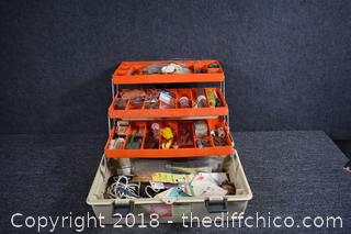 Fishing Tackle Box plus Contents