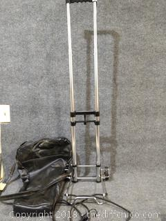 Rolling Cart with Storage Case