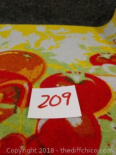"""New Kitchen Rug/Door Mat - 29.5"""" x 18.5"""""""