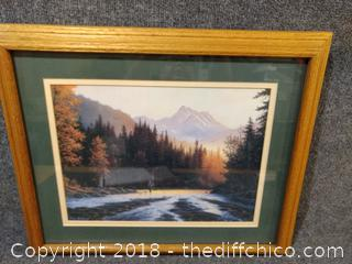 """Framed Picture - 22.5"""" x 18.5"""""""
