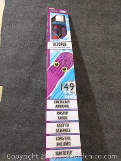 """Octopus Kite - 149"""" - NEW"""