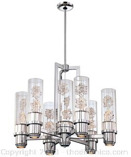 Metropolitan N6636 Bella Fiori 28 Inch Wide 13 Light Chandelier