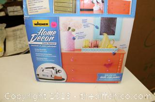 Wagner Home Decor Stationary HVLP Paint Sprayer