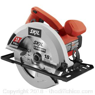 Skil 7-1/4-in 13-Amp Corded Circular Saw with Steel Shoe