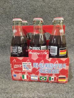 1994 World Cup Soccer 6 pk Coke