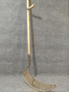 """Antique Scythe - 23"""" Tall"""