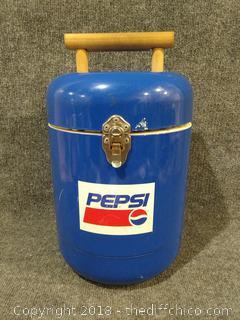 """Pepsi Cooler - Vintage - 15.5"""" Tall"""