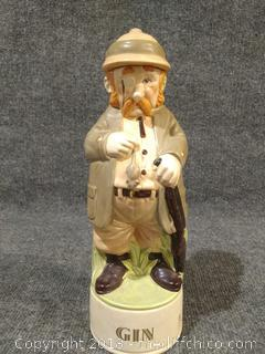 """Gin Decanter - Vintage - 12"""" Tall"""