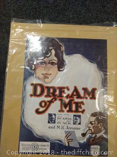 Dream of Me Advertisement