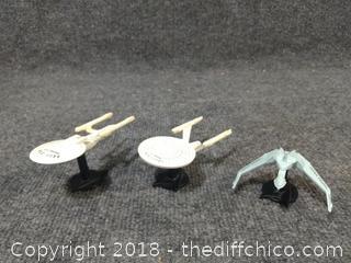 Die-Cast Star Trek Ships