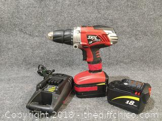 Skil 19 Volt with 2 Working Batteries and Charger