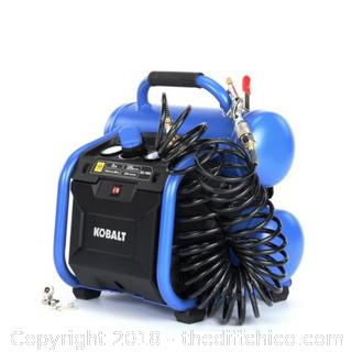 Kobalt Twin Stack Air Compressor