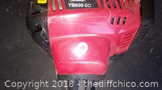 Troy Bilt 4 Cycle Jump Start  Weed Eater TB635EC