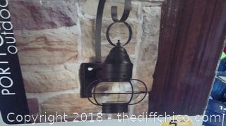 Portfolio Outdoor Wall Lantern
