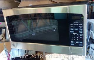 GE 2.0 cu. ft. Countertop Microwave in Stainless Steel