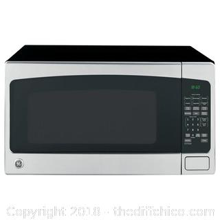GE 2.0 cu. ft. Countertop Microwave in Stainless Steel