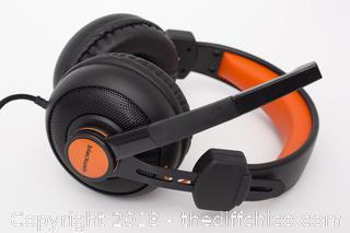 Black Web Stereo Gaming Headset