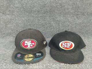 49'er Hat Lot
