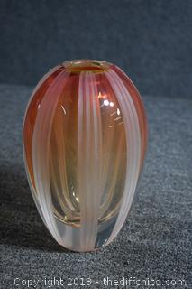 Poland Waterford Crystal Vase