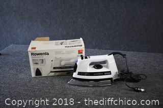 Rowenta Working NIB Iron