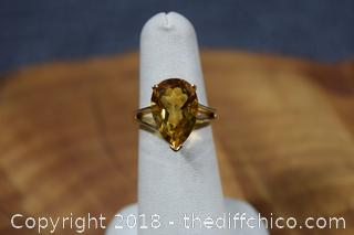 10k Gold Ring Size 6