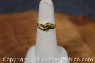 14k Gold Band Size 6