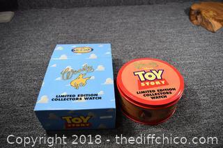 NIB Fossil Woody Toy Story Watch