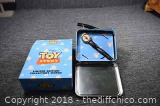 NIB Fossil Toy Story Watch