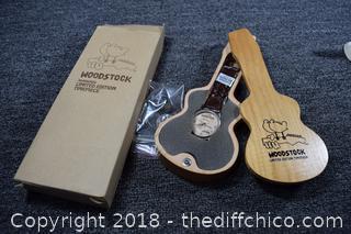 NIB Limited Edition WoodStock Watch