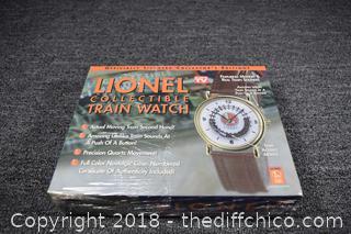 NIB Lionel Train Collectible Watch