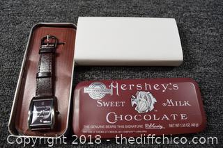 NIB Hershey's Chocolate Watch